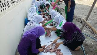 Qurban SMK Kesehatan Citra Medika Sukoharjo