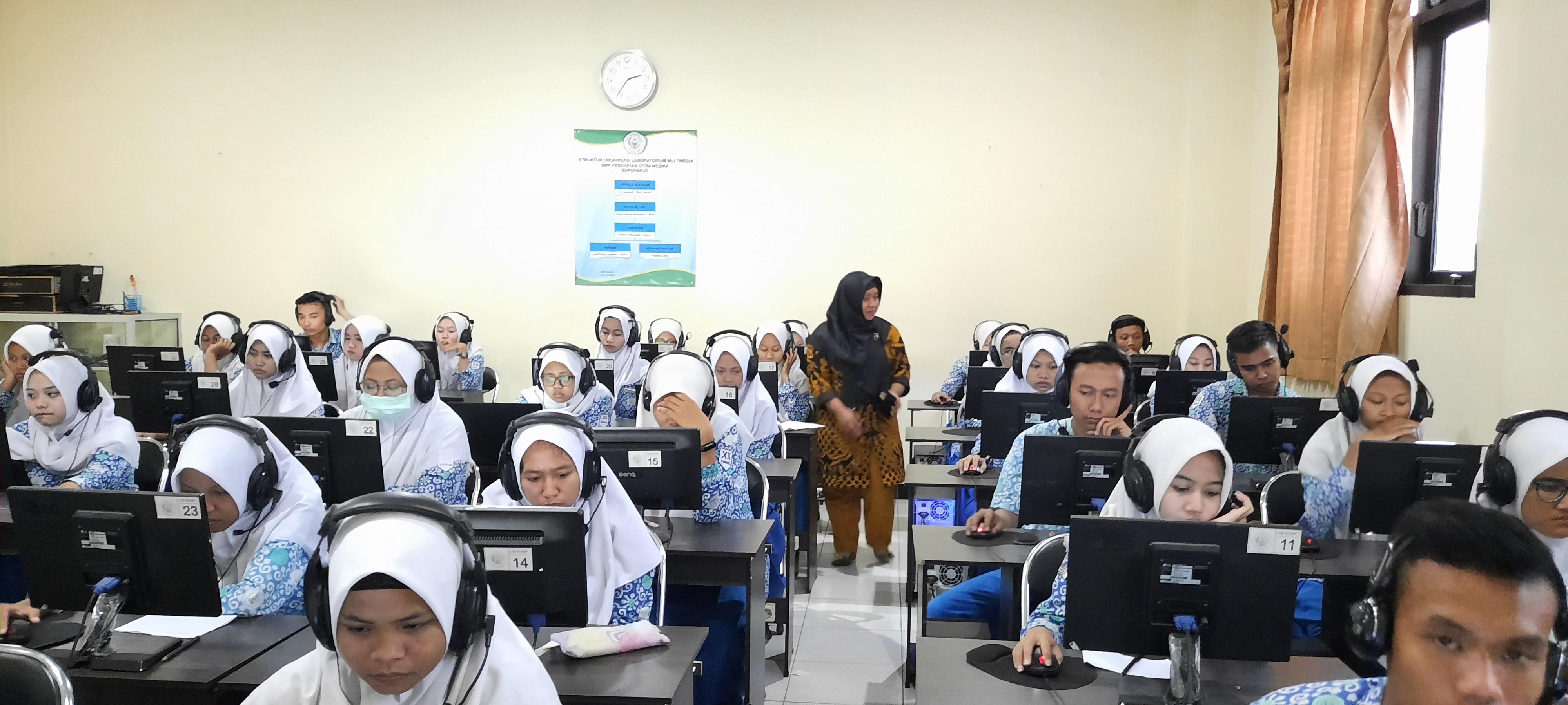 Meningkatkan Kompetensinya, Citra Medika Sukoharjo Gandeng Language Training Centre (LTC) UDB mengadakan test TOEIC